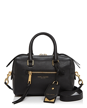 Marc Jacobs Bauletto Small Leather Satchel