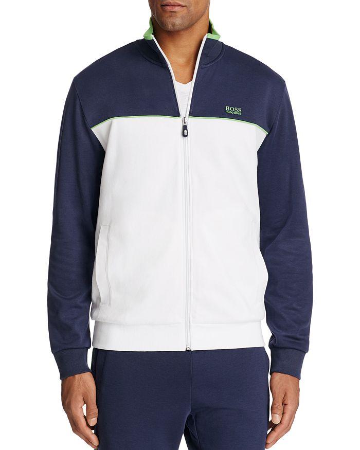 BOSS Hugo Boss - Skaz Color Block Zip Sweatshirt