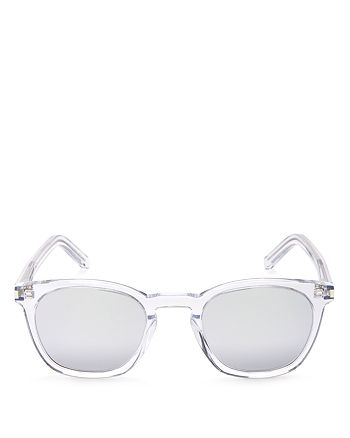 Saint Laurent - Women's Mirrored Sunglasses, 48mm