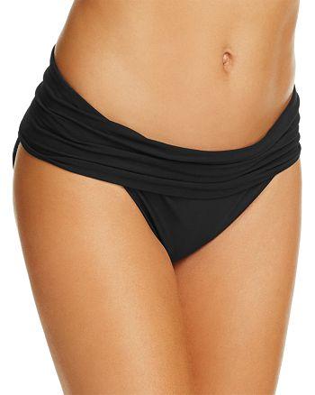 Amoressa - Gimlet Fold Over Waist Bikini Bottom