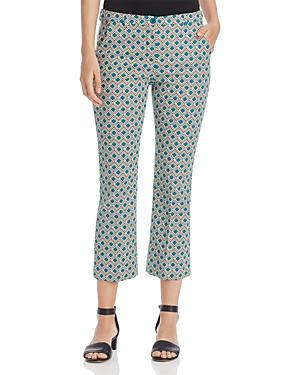 Weekend Max Mara Vadet Geometric-Print Pants