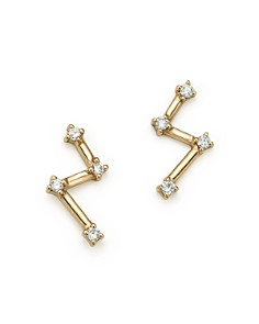 Dana Rebecca Designs - 14K Yellow Gold Jemma Morgan Diamond Stud Earrings