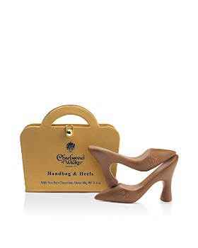 Charbonnel et Walker - Handbag and Heels Sea Salt Milk Chocolate Shoes