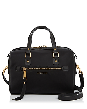 marc jacobs female marc jacobs trooper bauletto nylon satchel