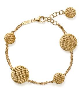 Roberto Coin - 18K Yellow Gold Silk Bracelet