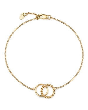 14K Yellow Gold Circle Link Bracelet