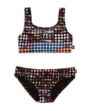 Terez Girls Emoji Print 2Piece Swimsuit  Sizes 616