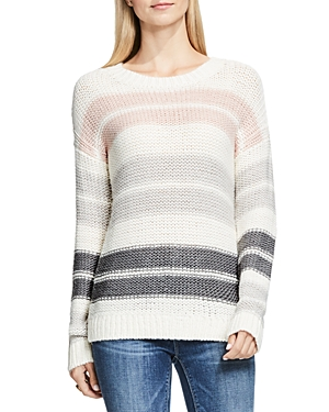 Two by Vince Camuto Drop Shoulder Stripe Sweater