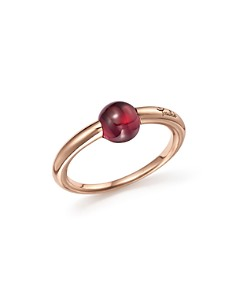 Pomellato - M'Ama Non M'Ama Ring with Rhodolite Garnet in 18K Rose Gold