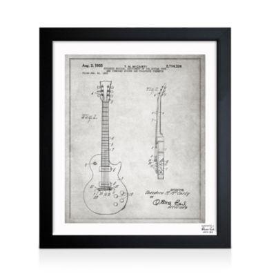 "Gibson Les Paul Guitar Wall Art, 26"" x 32"""