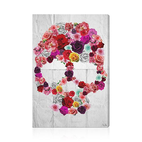 """Oliver Gal - Bed of Roses Wall Art, 20"""" x 30"""""""