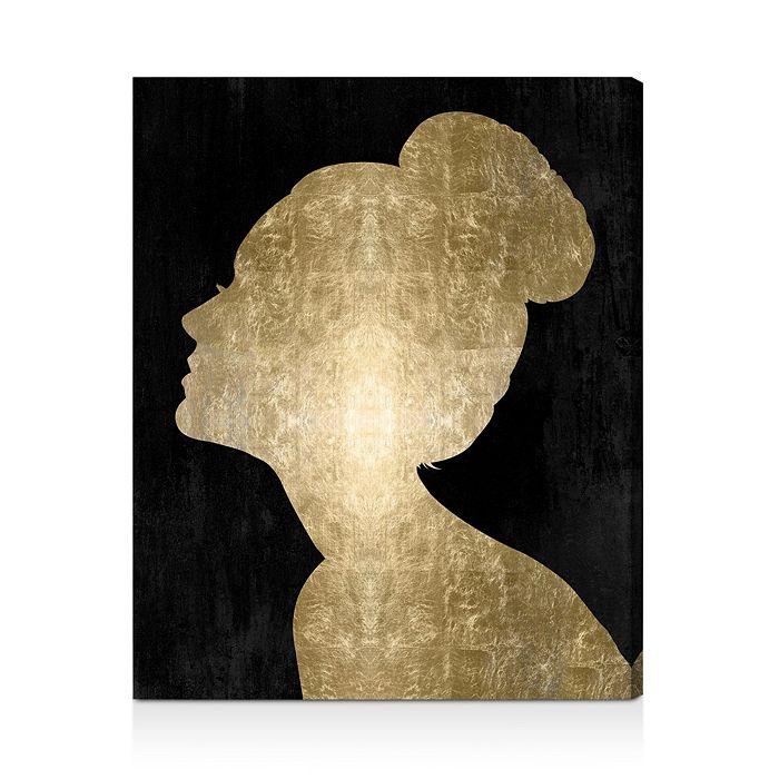 "Oliver Gal - Flower Built Glam Wall Art, 20"" x 24"""