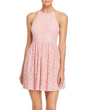 Aqua Geometric Lace Dress - 100% Exclusive 1649103