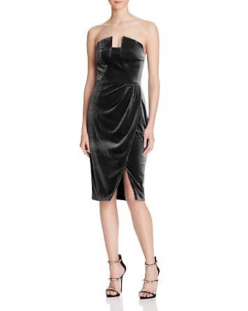 $Black Halo Jolie Velvet Dress - 100% Exclusive - Bloomingdale's