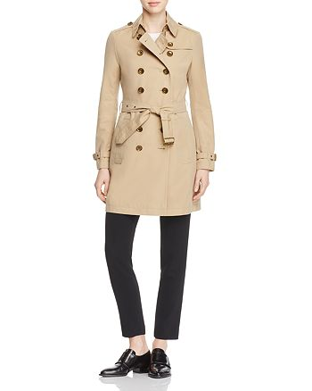 Burberry Crombrook Trench Coat   Bloomingdale s 16e0af682d4