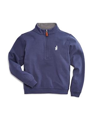 Johnnieo Boys Heavy Jersey Quarter Zip Pullover  Little Kid Big Kid