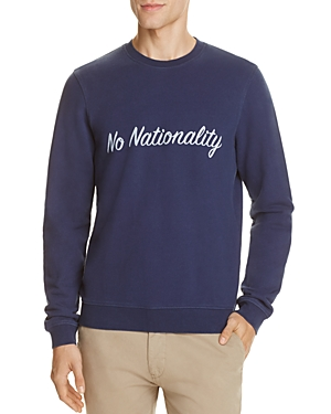 NN07 No Nationality Graphic Sweatshirt