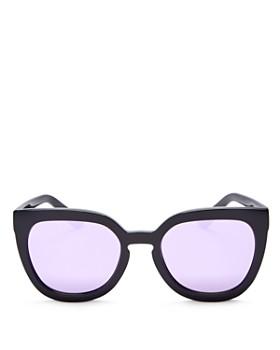 Quay - Women's Noosa Mirrored Cat Eye Sunglasses, 52mm