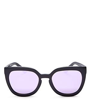 Quay Noosa Mirrored Cat Eye Sunglasses, 52mm