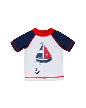 Little Me Boys' Sailboat Rash Guard - Baby