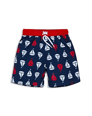 Little Me Boys' Sailboat Swim Trunks - Baby