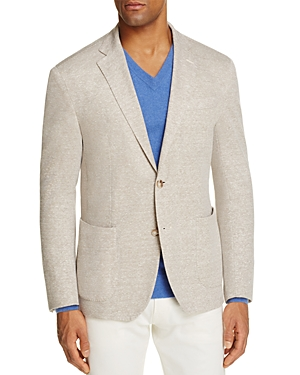 0909 Textured Solid Boucle Slim Fit Sport Coat