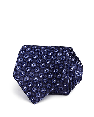 Canali Flower Medallion Classic Tie - 100% Exclusive