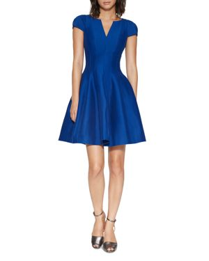 Halston Heritage Structured Faille Dress 2425244