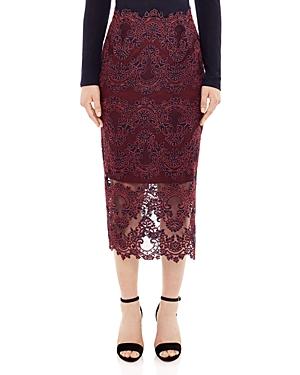 Sandro Patsy Lace Skirt