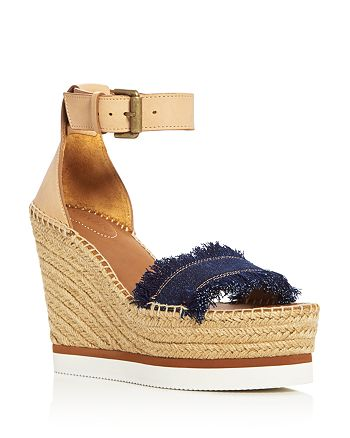 See by Chloé - Women's Espadrille Wedge Sandals