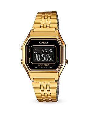 Casio Vintage Digital Watch, 33.5mm x 28.6mm