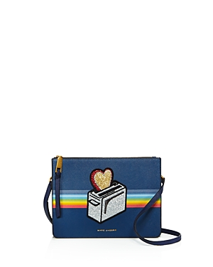 marc jacobs female marc jacobs rainbow flat crossbody 100 exclusive