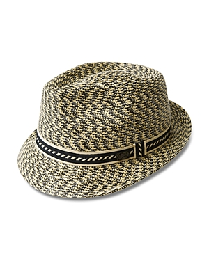 043398872f183 Bailey Of Hollywood Mannes Braided Teardrop Crown Hat, Natural Multi