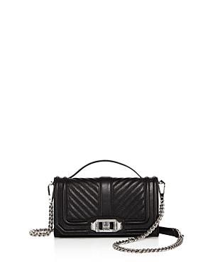 Rebecca Minkoff Love Top Handle Leather Phone Crossbody