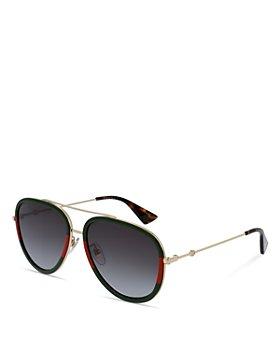 Gucci - Men's Aviator Sunglasses, 57mm