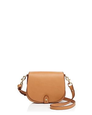 Celine Lefebure Camille Mini Leather Saddle Bag