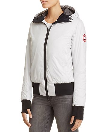 51ac0e0e667 Canada Goose Dore Hooded Down Bomber Jacket | Bloomingdale's