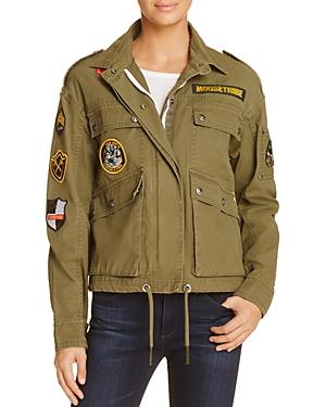 Moose Knuckles McCabe Embellished Cargo Jacket