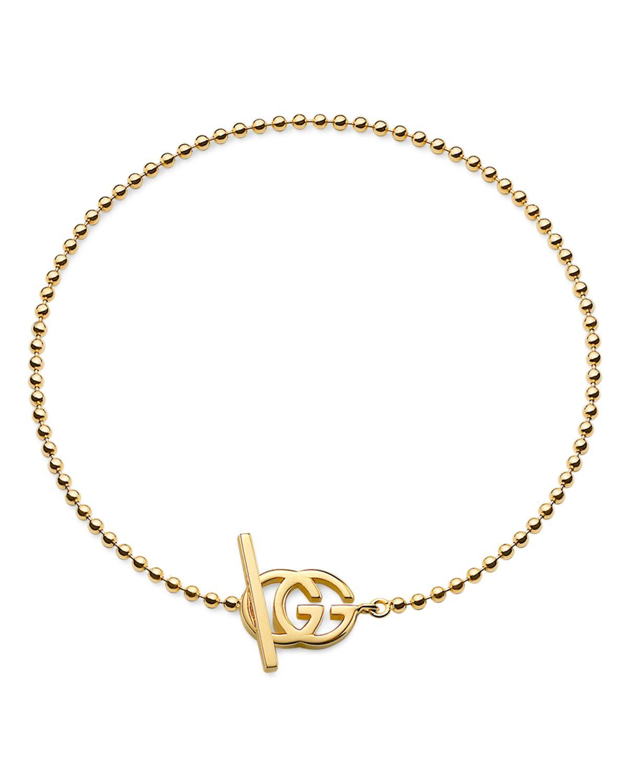Gucci GG Running yellow gold bracelet