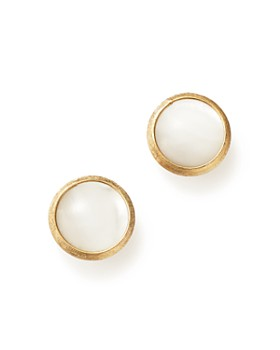 Marco Bicego - 18K Yellow Gold Jaipur Mother-Of-Pearl Stud Earrings