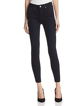 PAIGE - Hoxton High Rise Ankle Jeans in Mona - 100% Exclusive