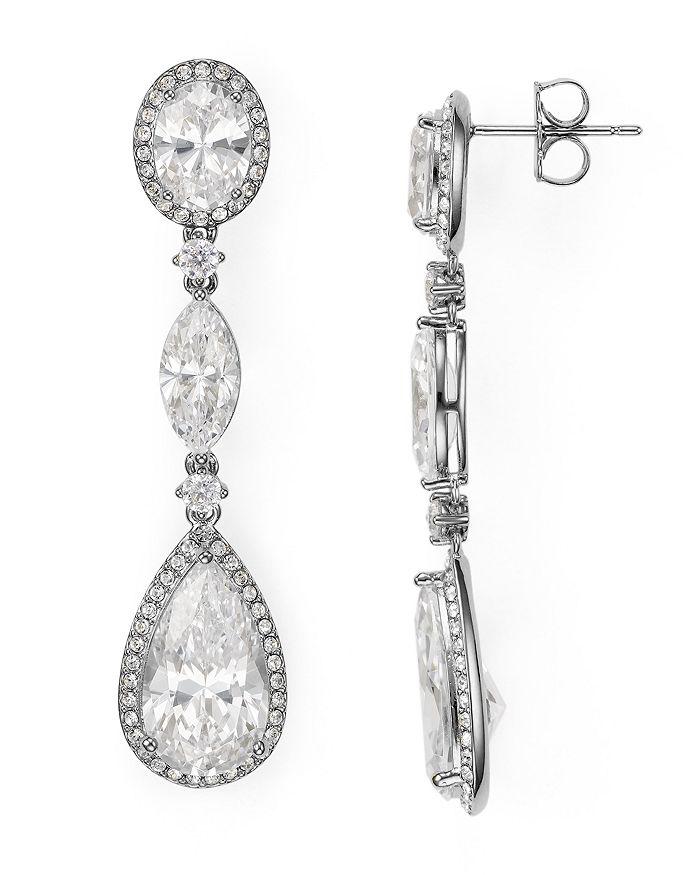 Nadri - Oval Drop Earrings
