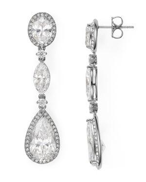 Nadri Oval Drop Earrings
