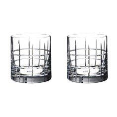 "Orrefors ""Street"" Double Old Fashioned Pair - Bloomingdale's_0"