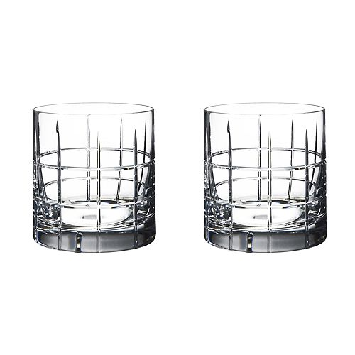 Orrefors - Street Double Old Fashioned Pair