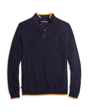 Brooks Brothers Boys' Color Tipped Pullover Sweater - Big Kid