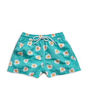 98 Coast Av Boys' Sunnyside Up Swim Trunks - Sizes Xs-l