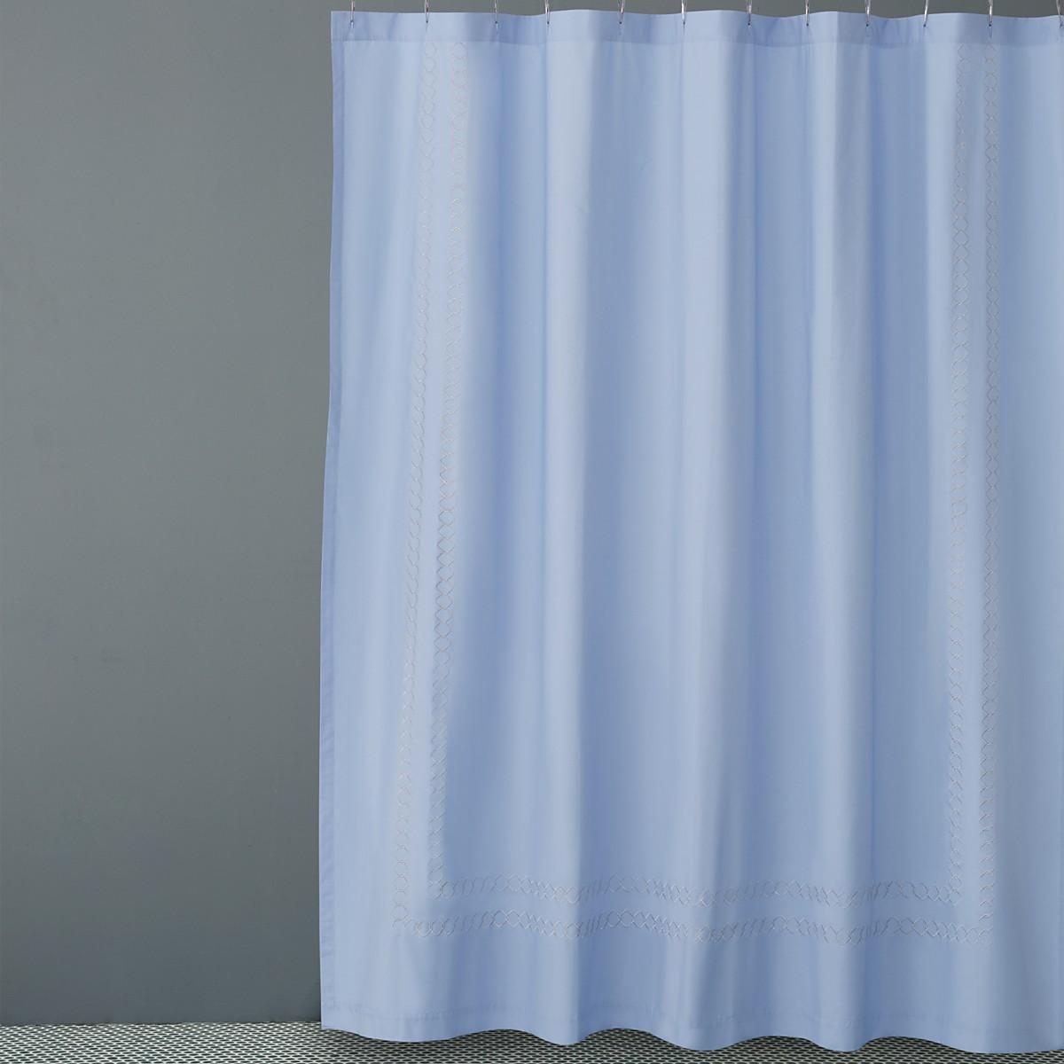 Hudson Park Quatrefoil Shower Curtain