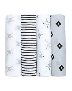 Aden and Anais - Lovestruck Swaddles, Pack of 4