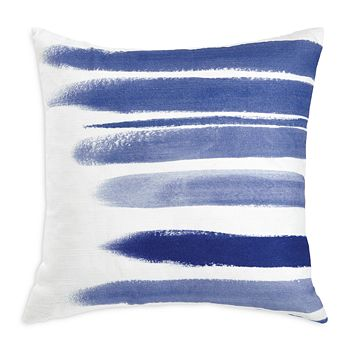 "bluebellgray - Printed Brushstrokes Pillow, 18"" x 18"""